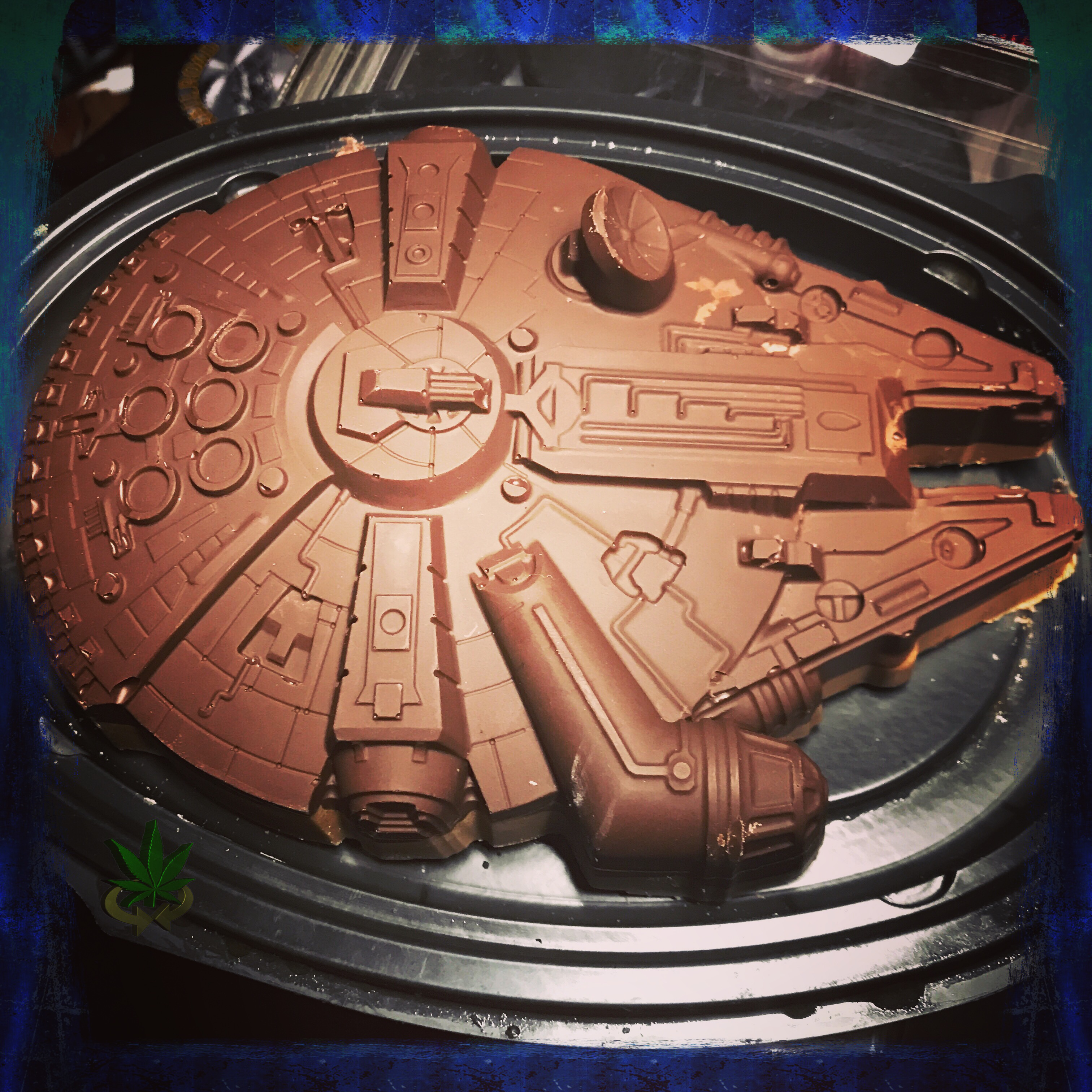 Medicated Millennium Falcon